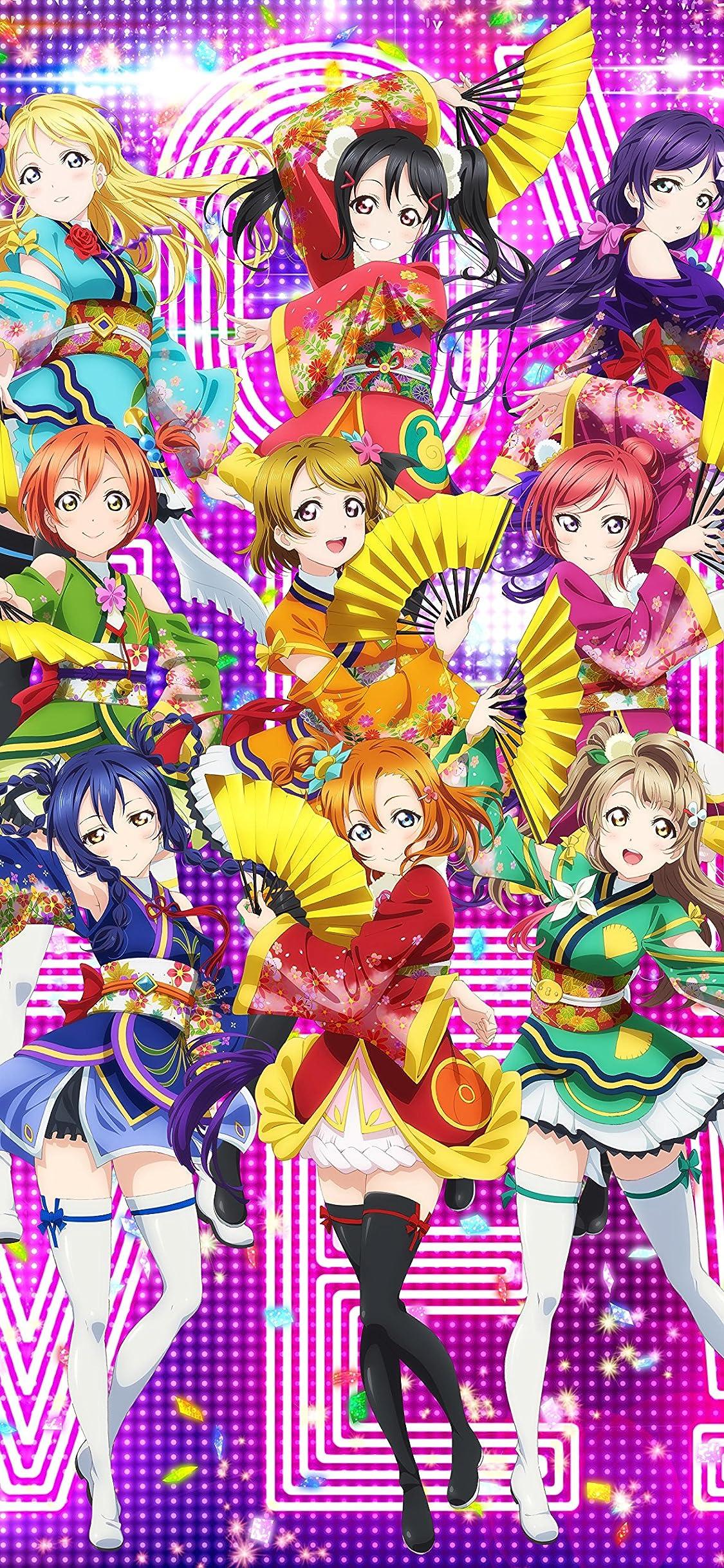 ラブライブ Iphone X 壁紙 1125x2436 Angelic Angel M S アニメ
