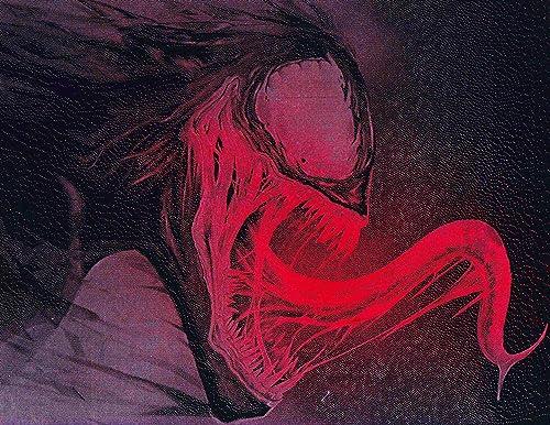 Venom Metal Poster Marvel Spray Paint Art
