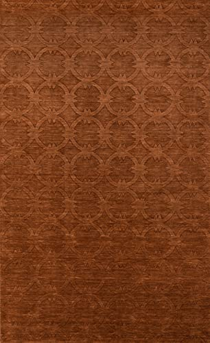 Momeni Rugs Gramercy Collection, 100 Wool Hand Loomed Contemporary Area Rug, 2 x 3 , Copper
