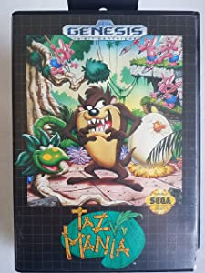 TazMania - Sega Genesis (Collector's)