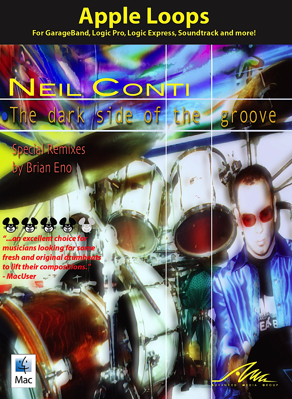 Dark Side of the Groove - Neil Conti - Apple Loops for GarageBand & Logic [Download] by AMG