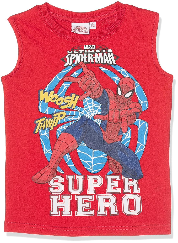 Spiderman Garçon Tee-Shirt - Rouge