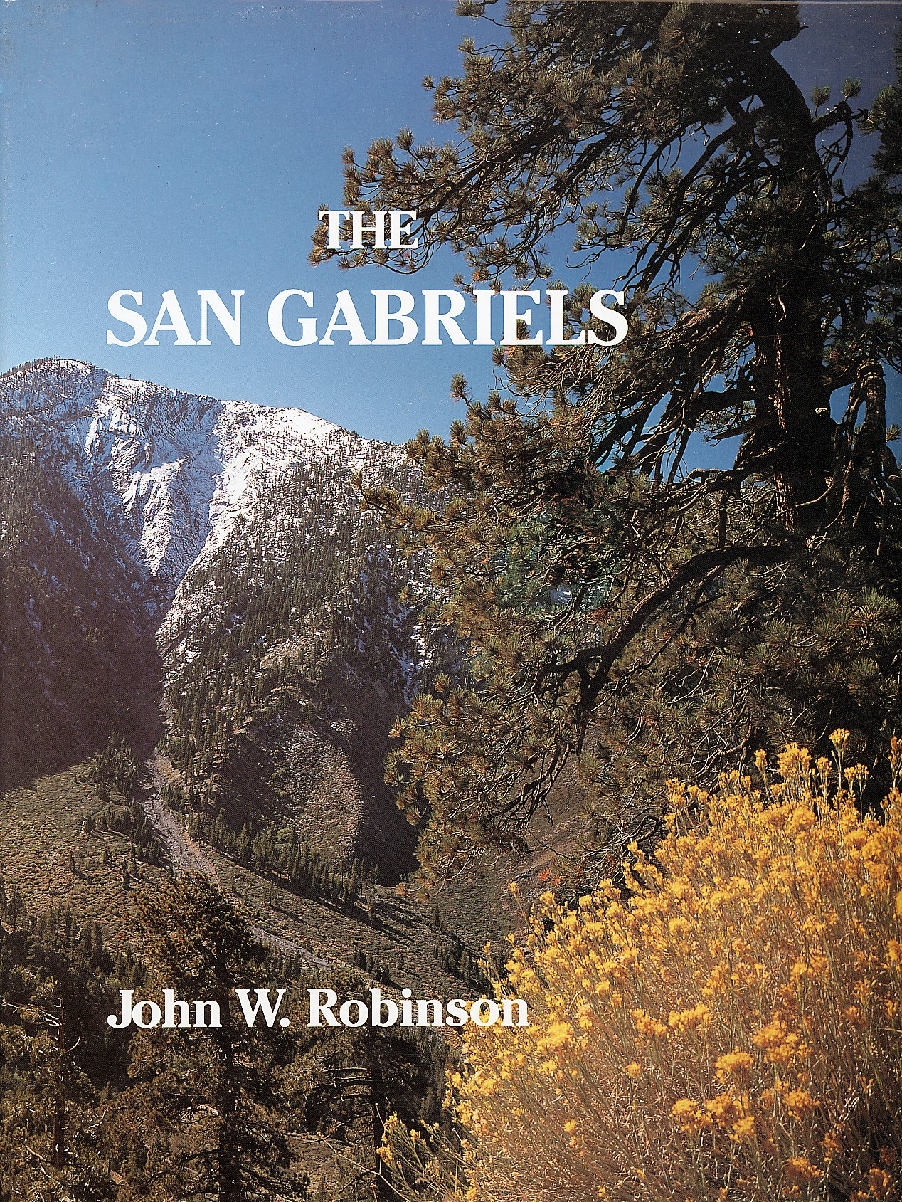 Download The San Gabriels: The Mountain Country From Soledad Canyon to Lytle Creek pdf epub