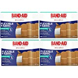 Band-Aid Brand Flexible Fabric Adhesive Bandages For Minor Wound Care, 400 Count