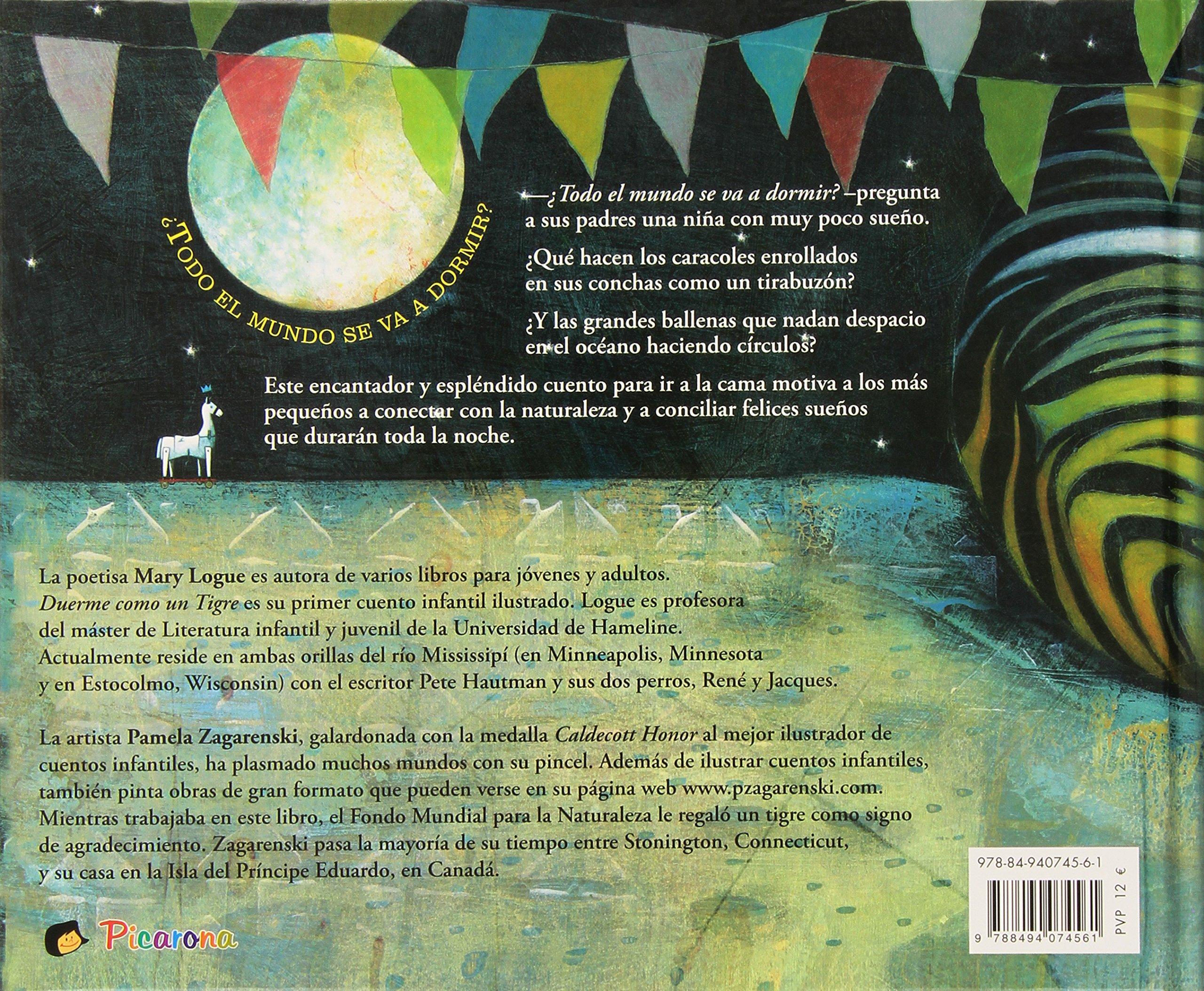Duerme como un tigre (Spanish Edition): Pamela Zagarenski: 9788494074561: Amazon.com: Books