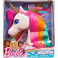 Barbie Dreamtopia Unicorn Styling Head, 10-Pieces