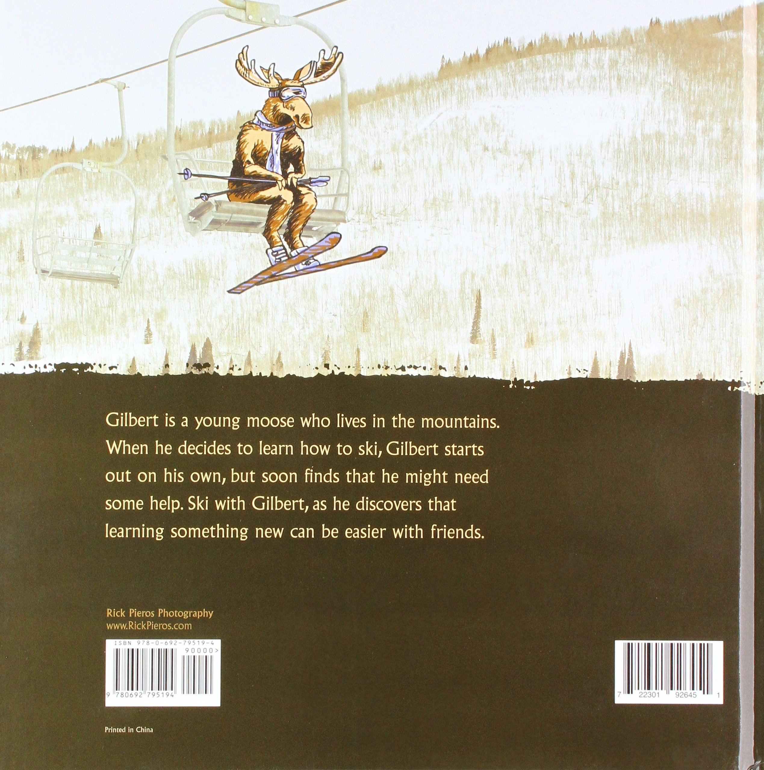 Gilbert the Moose Learns How to Ski by Rick Pieros Photography (Image #2)