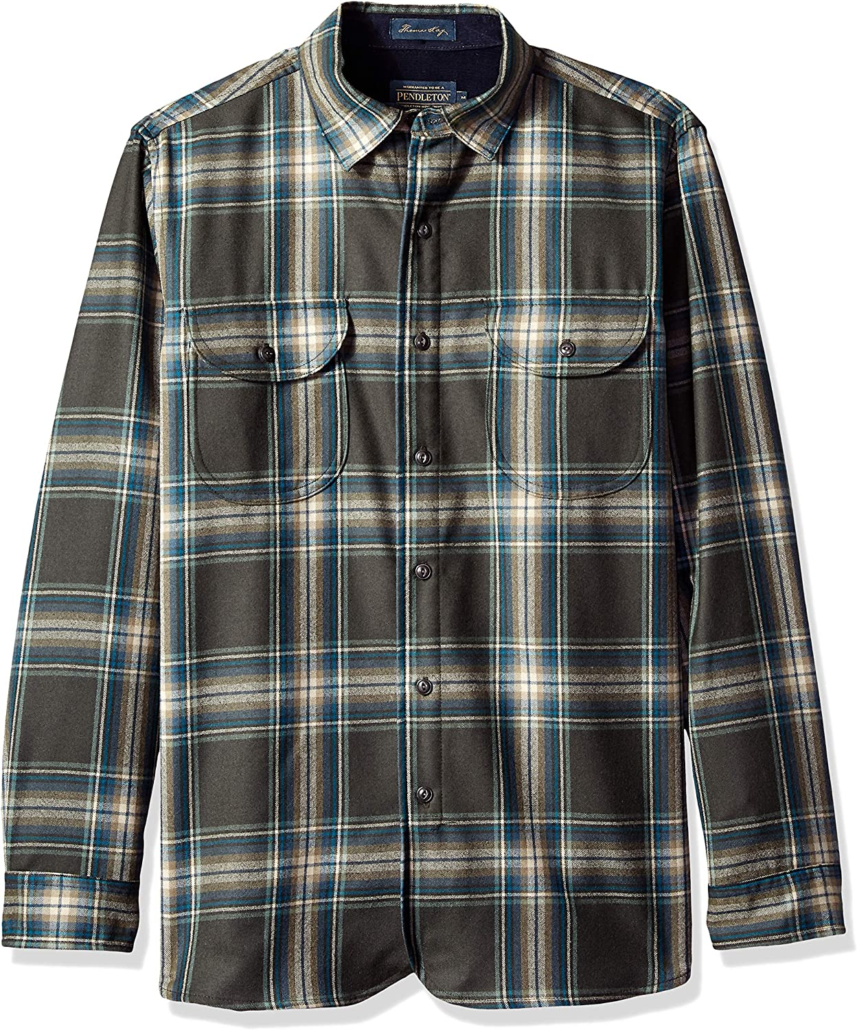 Pendleton Mens Long Sleeve Fitted Buckley Shirt