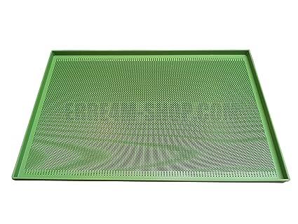 Bandeja de horno perforada antiadherente 60 x 40 x 2 (H.) cm.