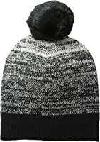 Sofia Cashmere Women's Ombre Marled Hat with Pom