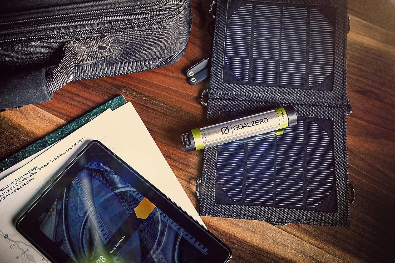 Nero Goal Zero Switch 8 KIT Pannello Solare e Pacco Batteria