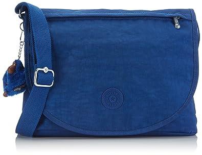 Amazon.com: Kipling Women s ORLEANE bolsa de hombro azul ...