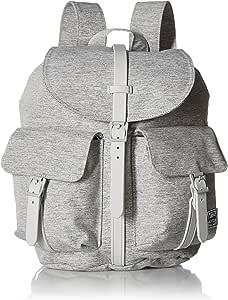 Herschel Supply Co. Dawson X-Small Backpack, Light Grey Crosshatch, One Size