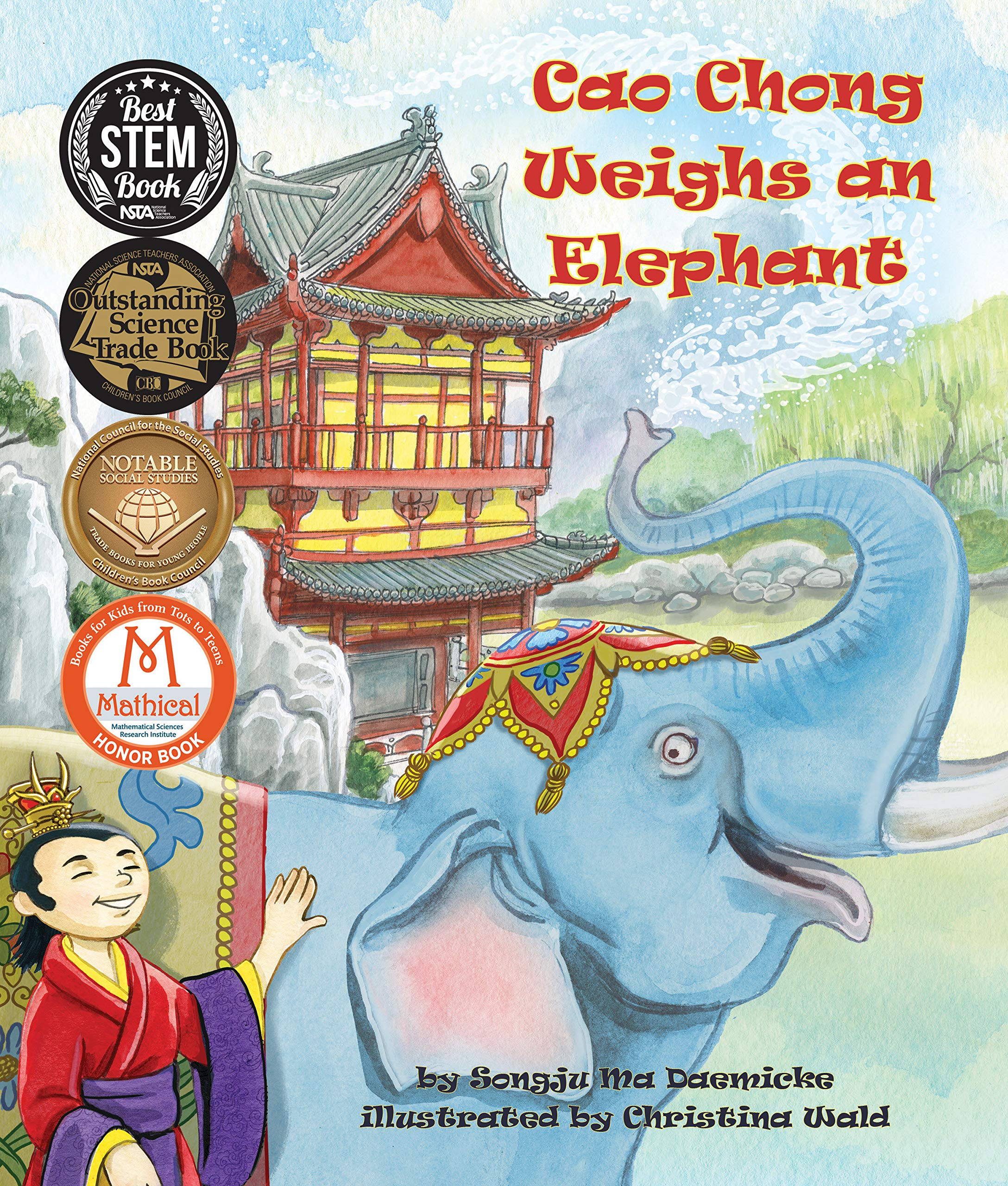 Cao Chong Weighs an Elephant (Arbordale Collection) por Songju Ma Daemicke