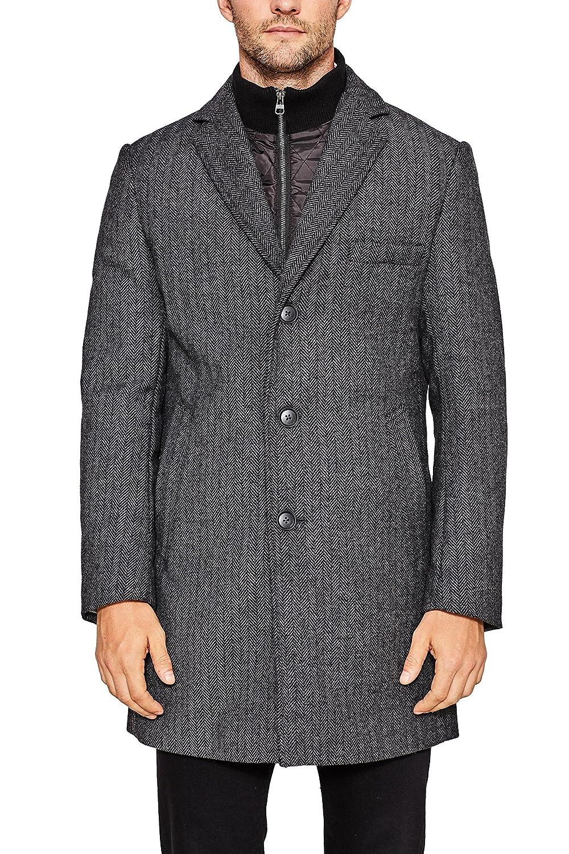 TALLA X-Large (Talla del fabricante: 52). ESPRIT Collection Abrigo para Hombre
