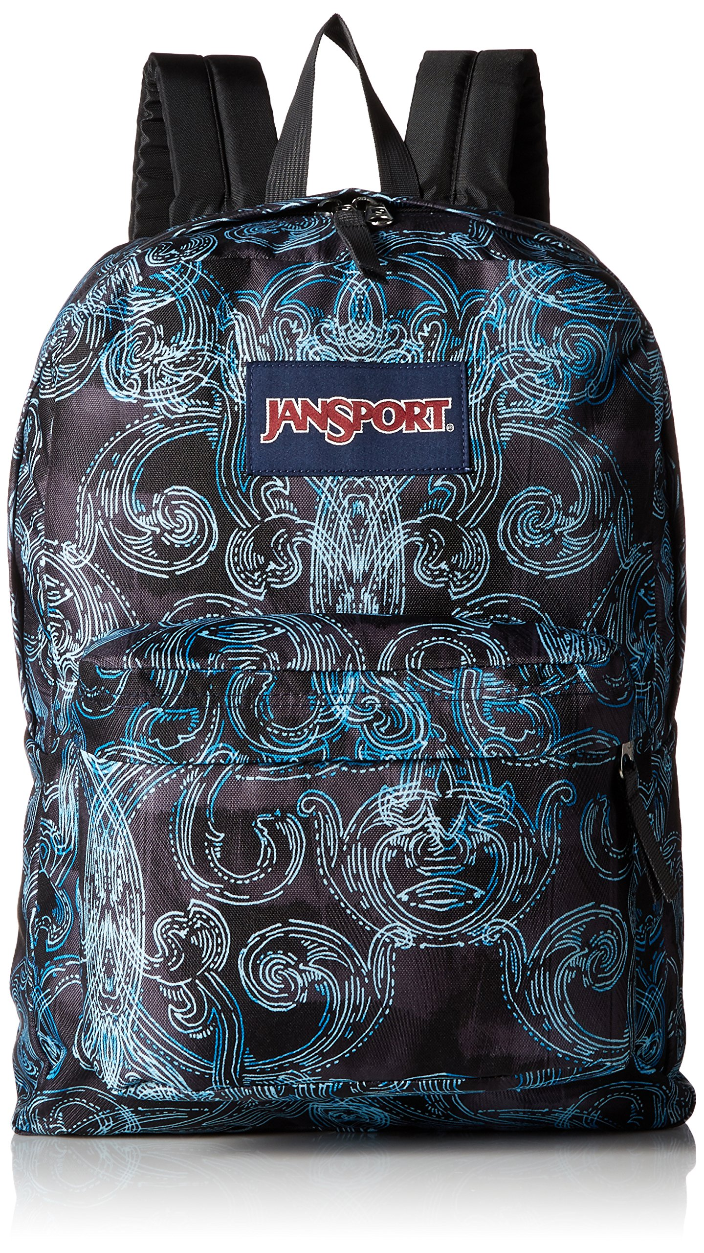 JanSport Unisex SuperBreak Multi Ornate Blues Backpack