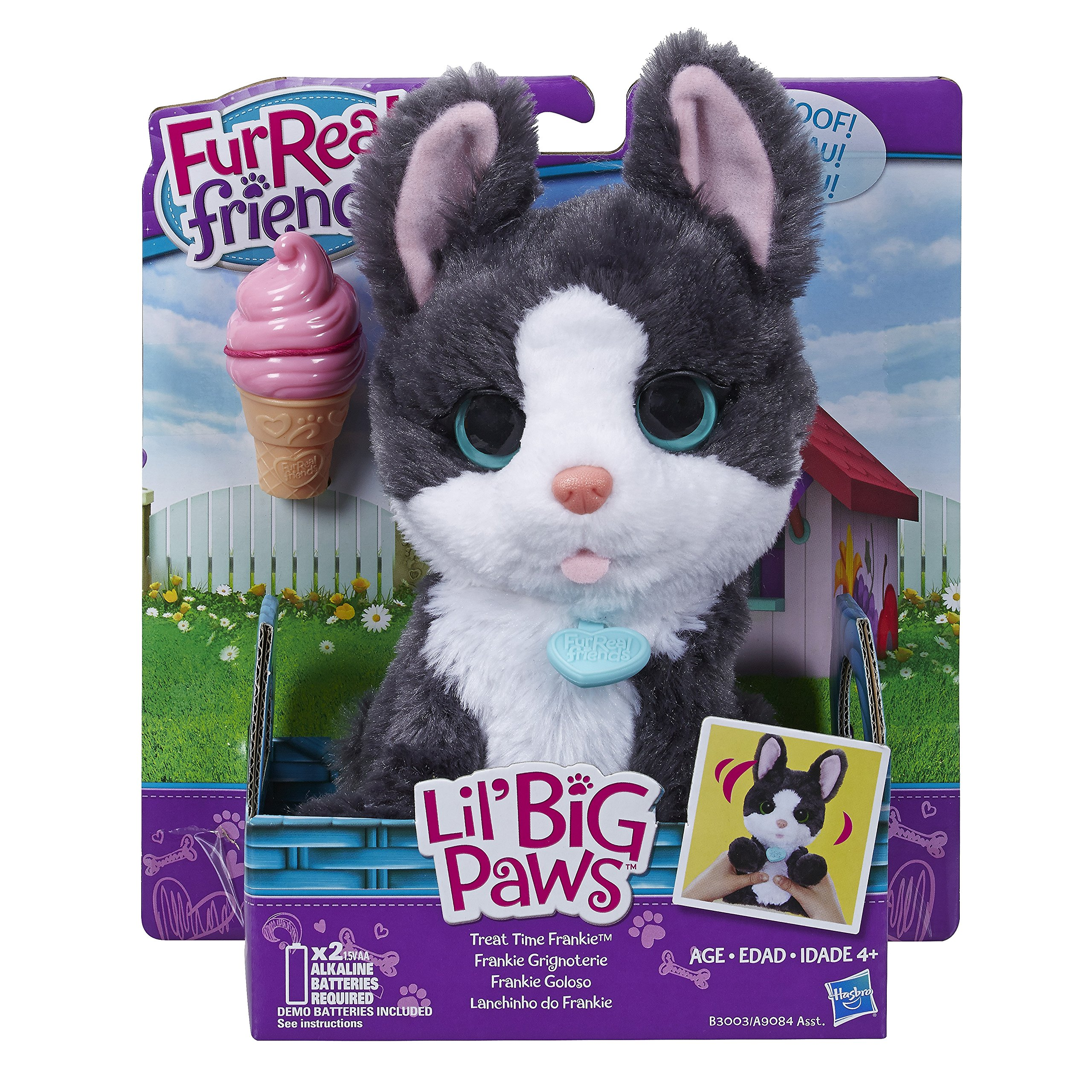 FurReal Friends Li'l Big Paws Treat Time Frankie Pet by FurReal (Image #2)