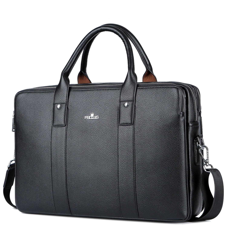 FSDWG porte-documents cuir sac d'affaires homme mallettes porte-documents style business
