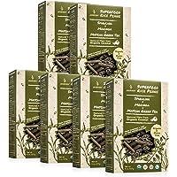 Jasberry Organic Superfood Gluten-Free Pasta (Penne) with Spirulina, Moringa and Matcha Green Tea 8 Ounces