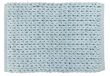 Amazon Com Park B Smith Chenille Knit Cotton Bath Rug 17 By 24