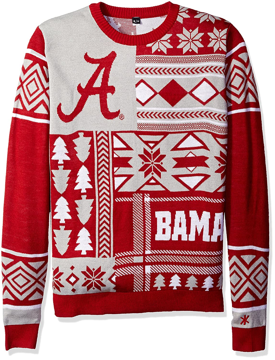 Amazon.com : FOCO NCAA Patches Ugly Sweater - Pick Team : Sports ...