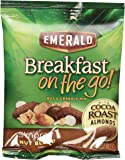 Emerald Breakfast On The Go, Smores Nut Blend, 5 Pouches Per Box (Pack of 4)