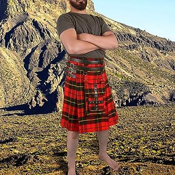 Details about  /Wallace Tartan Kilt Scottish TARTAN UTILITY Modern KILT for Men Custom Size