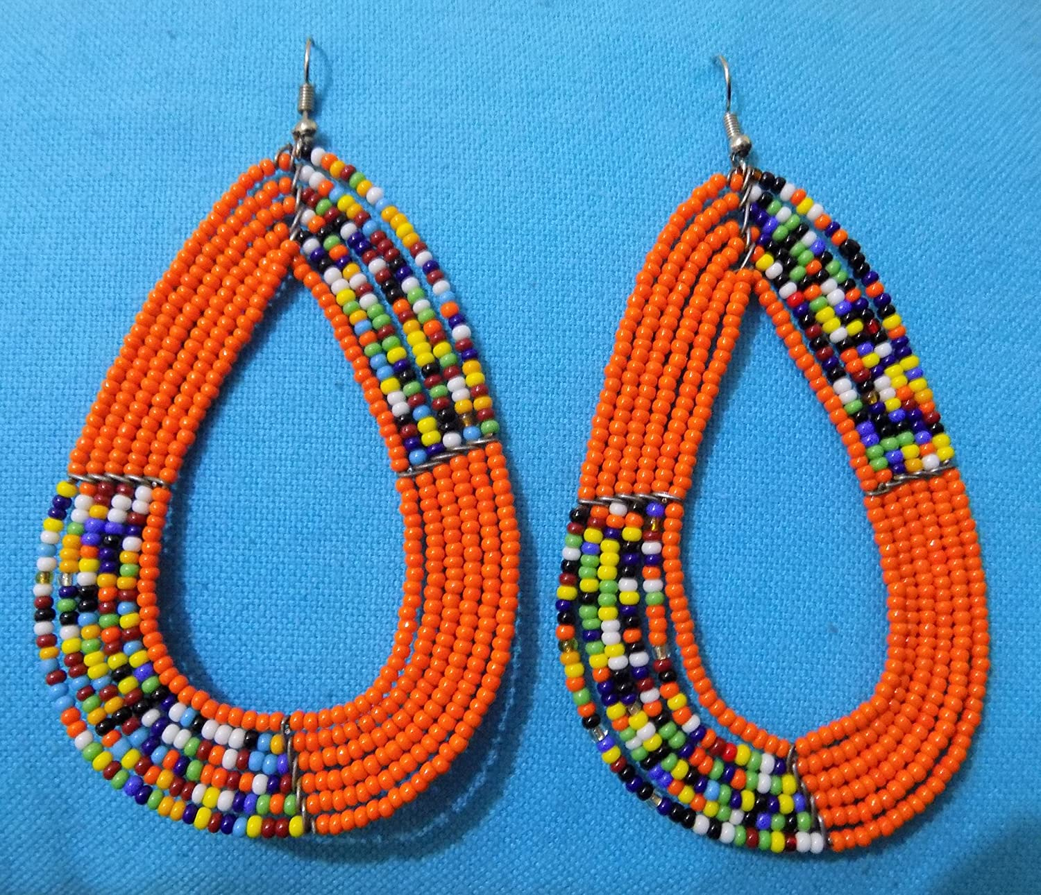 KEY CHAINS HAND MADE Beads by Ethnic East AFRICAN MASAI