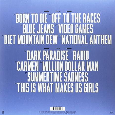 Del Rey Lana Born To Die Amazon Com Music