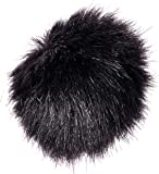 RØDE MINIFUR-LAV Artificial Fur Wind Shield - Black
