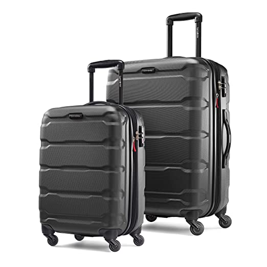 e5441a948c38 Samsonite Omni Expandable Hardside Luggage with Spinner Wheels
