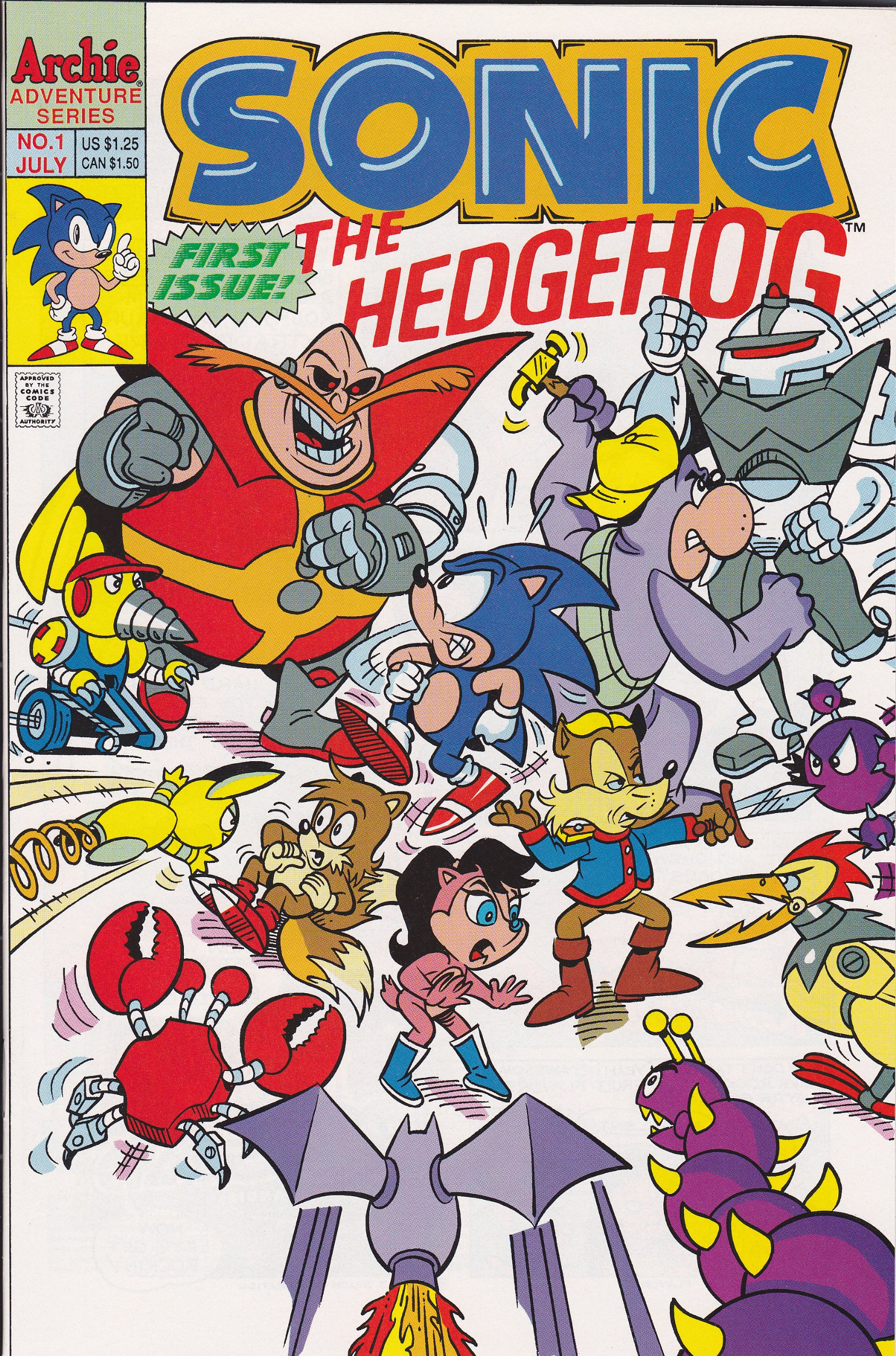 Sonic The Hedgehog 1 Archie Adventure Amazon Com Books
