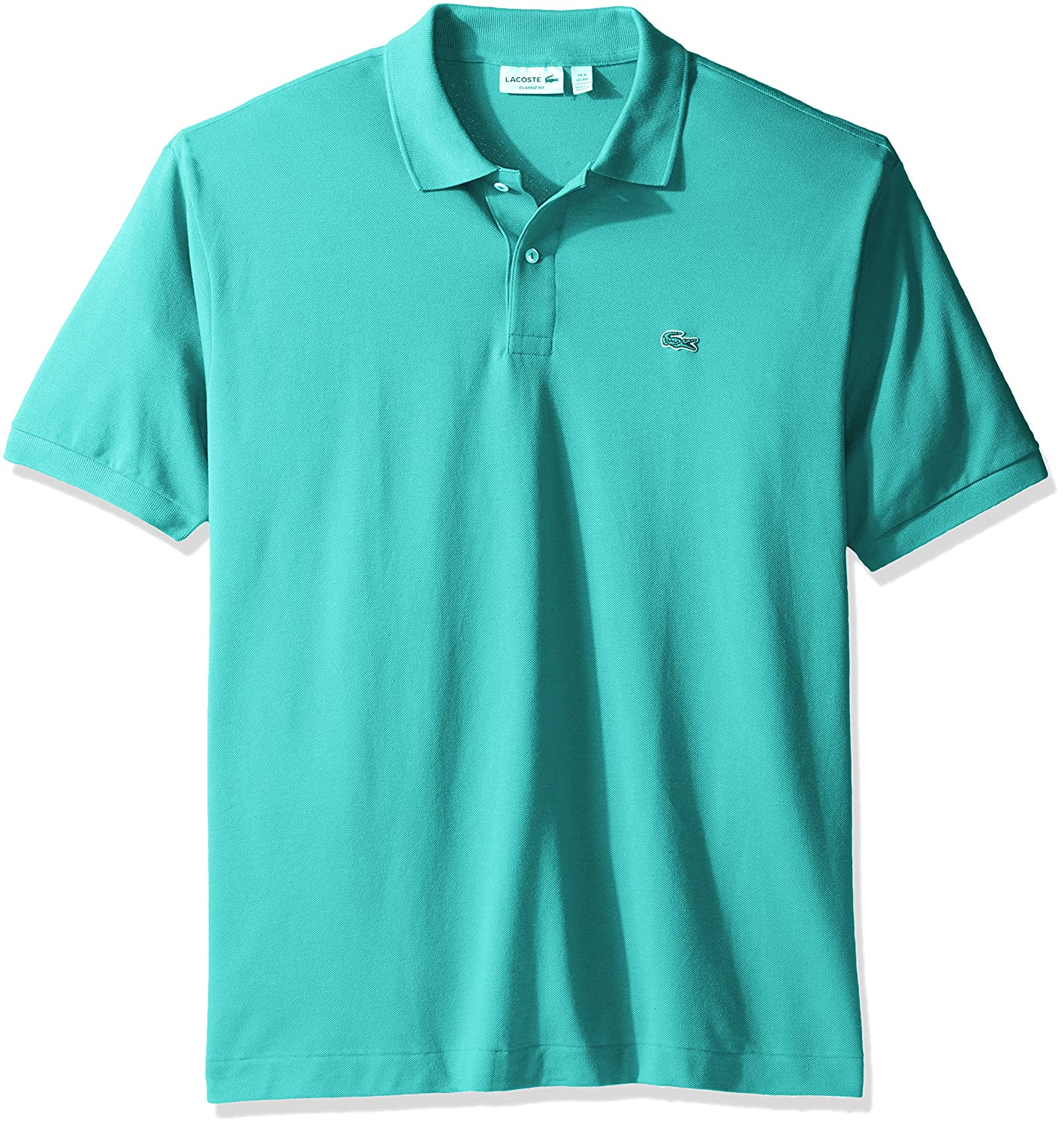 416bd2fc Lacoste Men's Short Sleeve Pique L.12.12 Classic Fit Polo Shirt, L1212 at  Amazon Men's Clothing store: