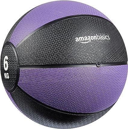 AmazonBasics - Balón medicinal, 6 kg: Amazon.es: Deportes y aire libre