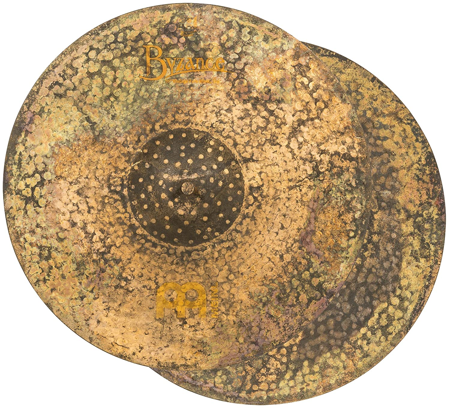MEINL Cymbals マイネル Byzance Vintage Series ハイハットシンバル 16