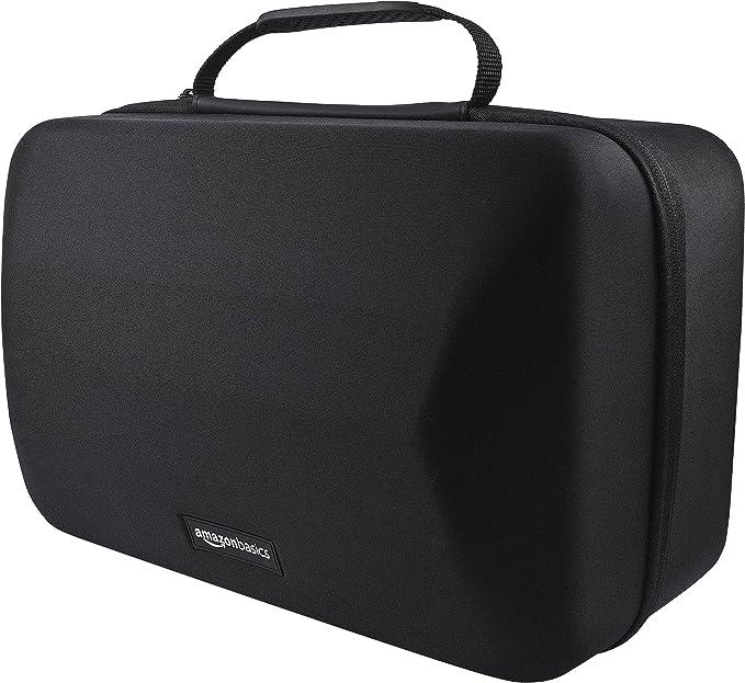 AmazonBasics - Maletín de transporte para casco y accesorios para PlayStation VR, Negro: Amazon.es: Videojuegos