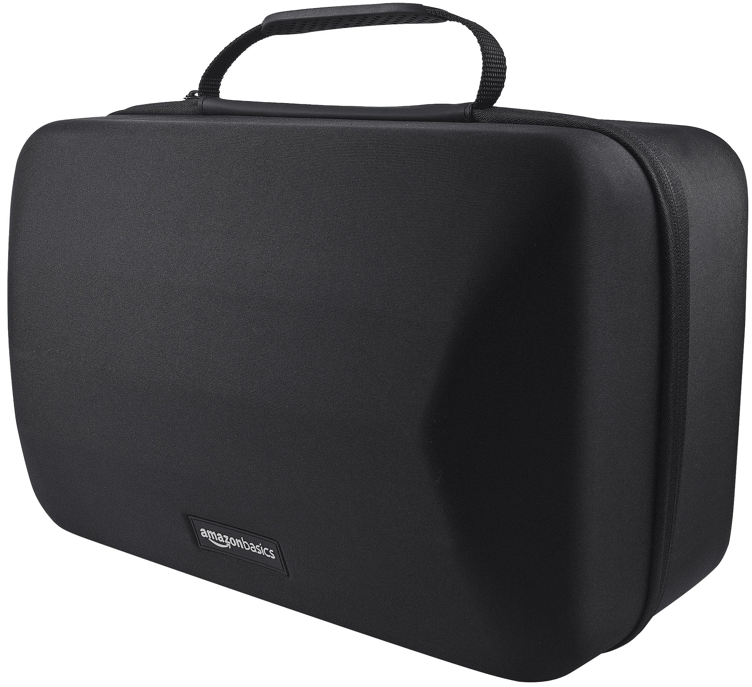 AmazonBasics Carrying Case for PlayStation VR Headset and Accessories, Black