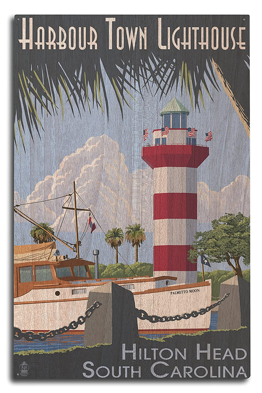 超美品の ヒルトンヘッド、South Carolina – Harbour – Town灯台 15oz Mug LANT-3P-15OZ-WHT-32683 15 B07368TCPQ B07368TCPQ 10 x 15 Wood Sign 10 x 15 Wood Sign, ebeads:e2a42d0f --- podolsk.rev-pro.ru
