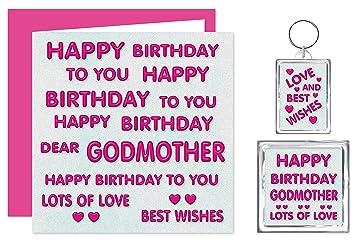Godmother Happy Birthday Gift Set