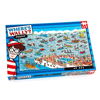 Paul Lamond Where's Wally at sea Puzzle (250-Piece): Toys & Games