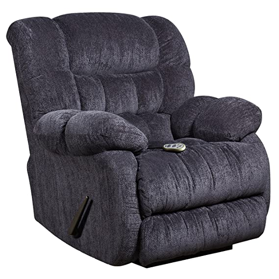 Amazon.com: Flash Muebles Masaje Columbia índigo Sillón ...