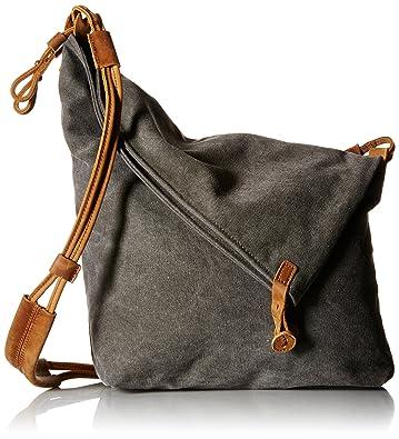Tom Clovers Summer Canvas Crossbody Messenger Shouder Handbag Tote Grey 2dedba7ea5