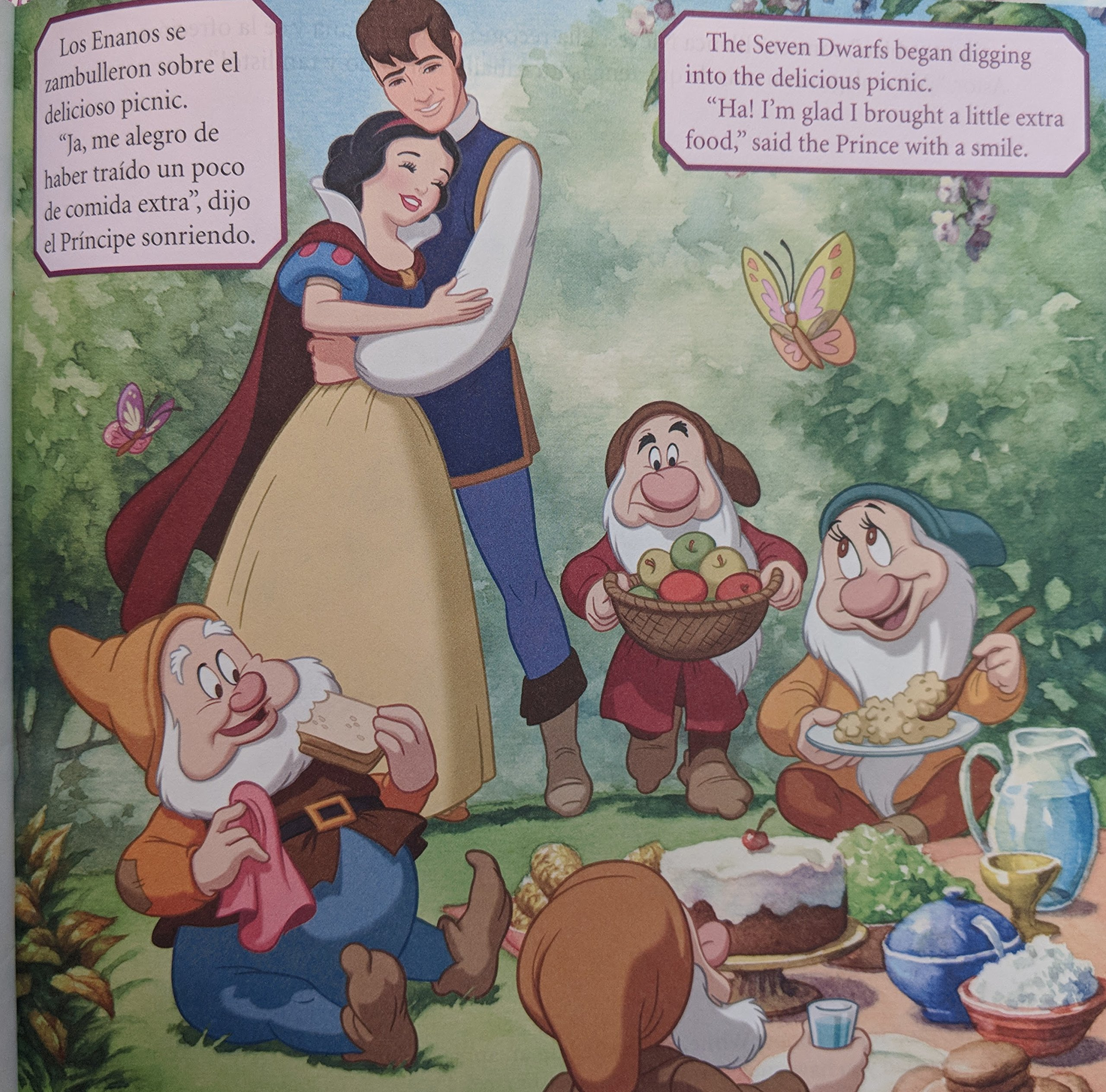 Disney Princesa Bilingual Book Set (Spanish/English): Catherine Kapka: Amazon.com: Books