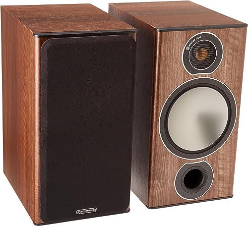Monitor Audio Bronze 2 Bookshelf Speakers – Walnut