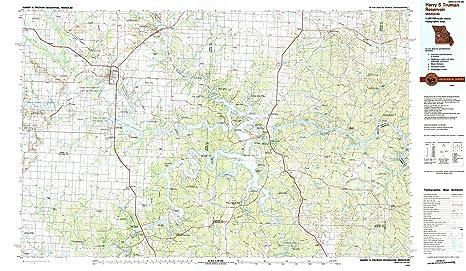 S In Missouri Map on