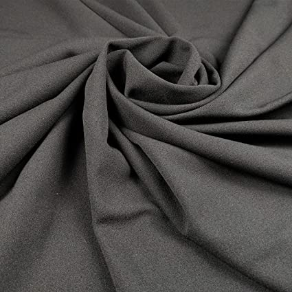 4 Metres Orange /& White Tie Dye Print Scuba Crepe Fabric