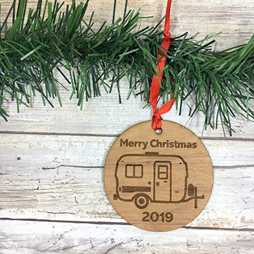 Christmas Haul 2019 Amazon.com: U HAUL Camper 2019 Merry Christmas Ornament: Handmade