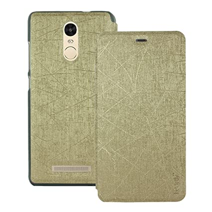 f30ebfcbaef Heartly PURain128-Gold Premium Luxury PU Leather Flip  Amazon.in   Electronics