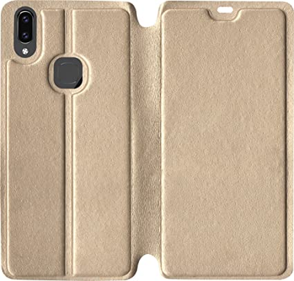 differently 04e66 b117d Sales Express Flip Cover for Vivo Y83 Pro (Golden)