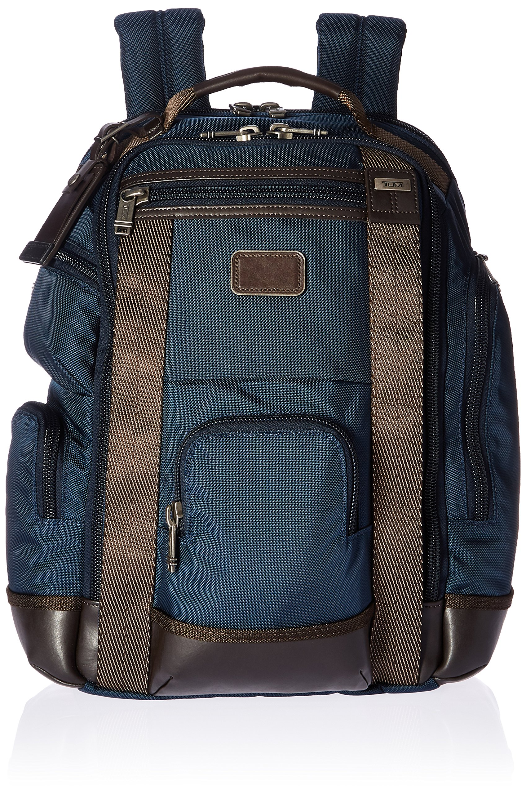 Tumi Alpha Bravo Shaw Deluxe Brief Pack, Navy by Tumi (Image #1)